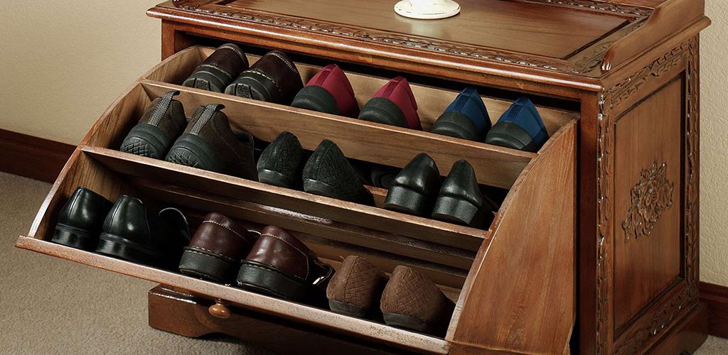 Armario para zapatos antiguo