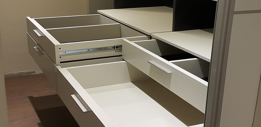 Organizador de madera para cajones de dormitorio